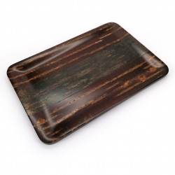Rectangular cherry bark tray, HARIWAKE