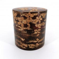 Cherry bark tea box with cherry petals, SAKURA, 110 gr