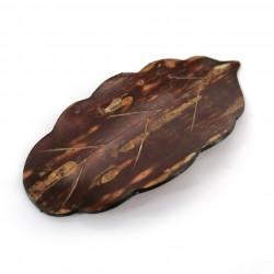 Cherry bark spoon, KOHANA, leaf