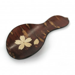 Cherry bark spoon, HYOTAN SAKURA, squash
