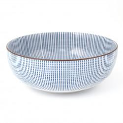 japanese noodle ramen bowl, SENDAN TOKUSA, lines