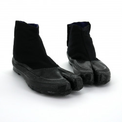 the pair of Japanese Jikatabi black reinforced toe, ESK-3, black