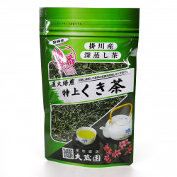 Japanese green tea KUKICHA TOKUJO 100 grammes