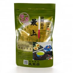 japenese green tea Sencha SAIJO. harvested in spring