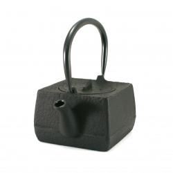 Japan cast iron teapot, OIHARU SHAMISEN 0,6lt, black