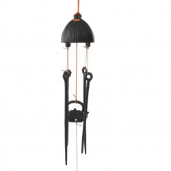 chime - cast iron wind bell from Japan, HIBASHI, tea-pot