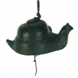 Japan cast iron wind bell, MAKIGAI, snail