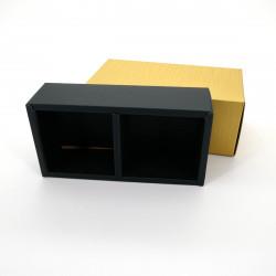 cardboard for two round metallic Japanese tea boxes, KÂTON, golden