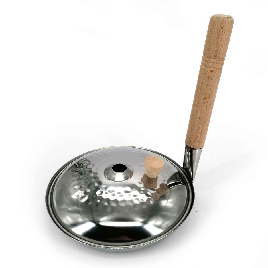 Stainless steel pan and lid for Oyako-Don 16cm