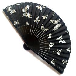 éventail japonais en coton et bambou CHO 2