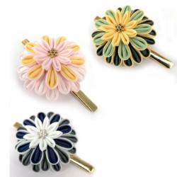 Japanese handcrafted hair clip, NIJUGO