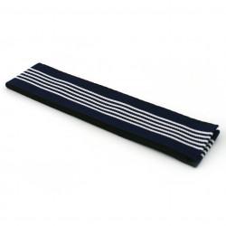 Japanese traditional blue cotton obi belt, OBI-SASH