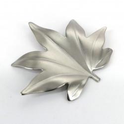 Soporte para palillos japoneses en plata, TSUBAME SHINKO GINMOMIJI