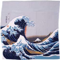 furoshiki japonés, NAMIFUJI, Hokusai La Gran Ola de Kanagawa
