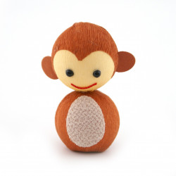 japanese okiagari doll monkey