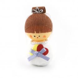bambola giapponese okiagari protettore, SHINPU, la sposa
