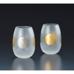 Set of 2 Japanese whiskey glasses, PREMIUM JITSUGETSU