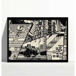 Illustration 40x30cm, Manga Print, PAIHEME