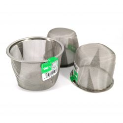 Filter for Japanese cast iron teapot, INOX, size of your choice between 77 mm and 96 mm