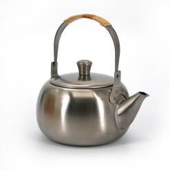 Stainless steel teapot, YOSHIKAWA SUI