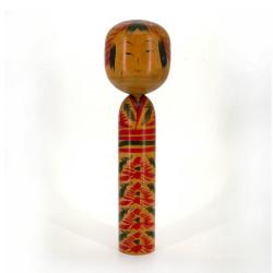 Japanese wooden doll - vintage kokeshi - KOKESHI