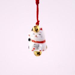 accroche décorative japonaise pour téléphone chat 7147