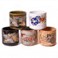 set japonais de 5 tasses à saké 258634