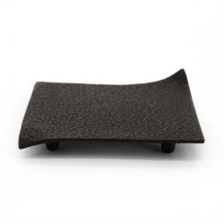 Japanese cast iron trivet, ROJI SQUARE