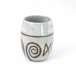 tasse grise japonaise à thé en céramique NARUTO