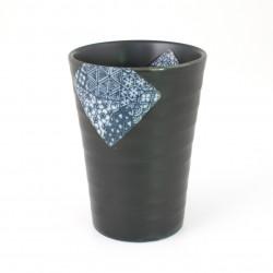 mazagran Japanese black ceramic tea 282504478