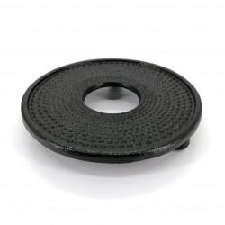 Black cast iron trivet from Japan, ARARE-S