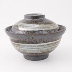 bol japonais en céramique avec couvercle 15MYA328506318