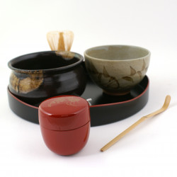 service for the Japanese tea ceremony , SADO, premium