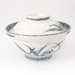 Cuenco de arroz japonés con tapa AOGUSA