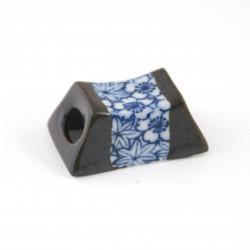 Japanischer Essstäbchenhalter, SHIMITSU SHUNJÛ, blau