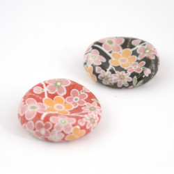 Porta bacchette giapponesi, SAKURA YUZEN, rosso o nero
