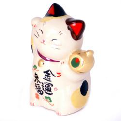 Chat porte-bonheur japonais manekineko, KINUNRAIFUKU