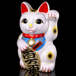 Chat géant manekineko tirelire japonaise, HIDARI OKANE
