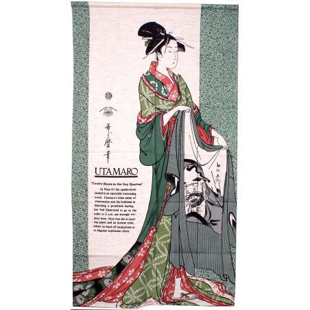 Cortina japonesa mujer, HAORI, geisha