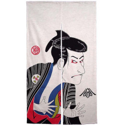 Japanese curtain NOREN SHARAKU