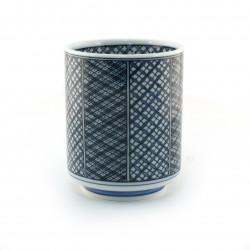 taza de té japonés, SHONZUI, azul