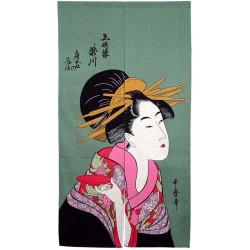 rideau japonais NOREN sazazuki