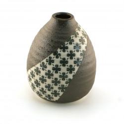japanese vase, KUROBA, blue
