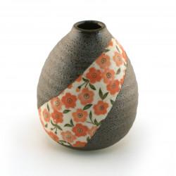Japanese single-flower vase, floral patterns HANA SAKURA