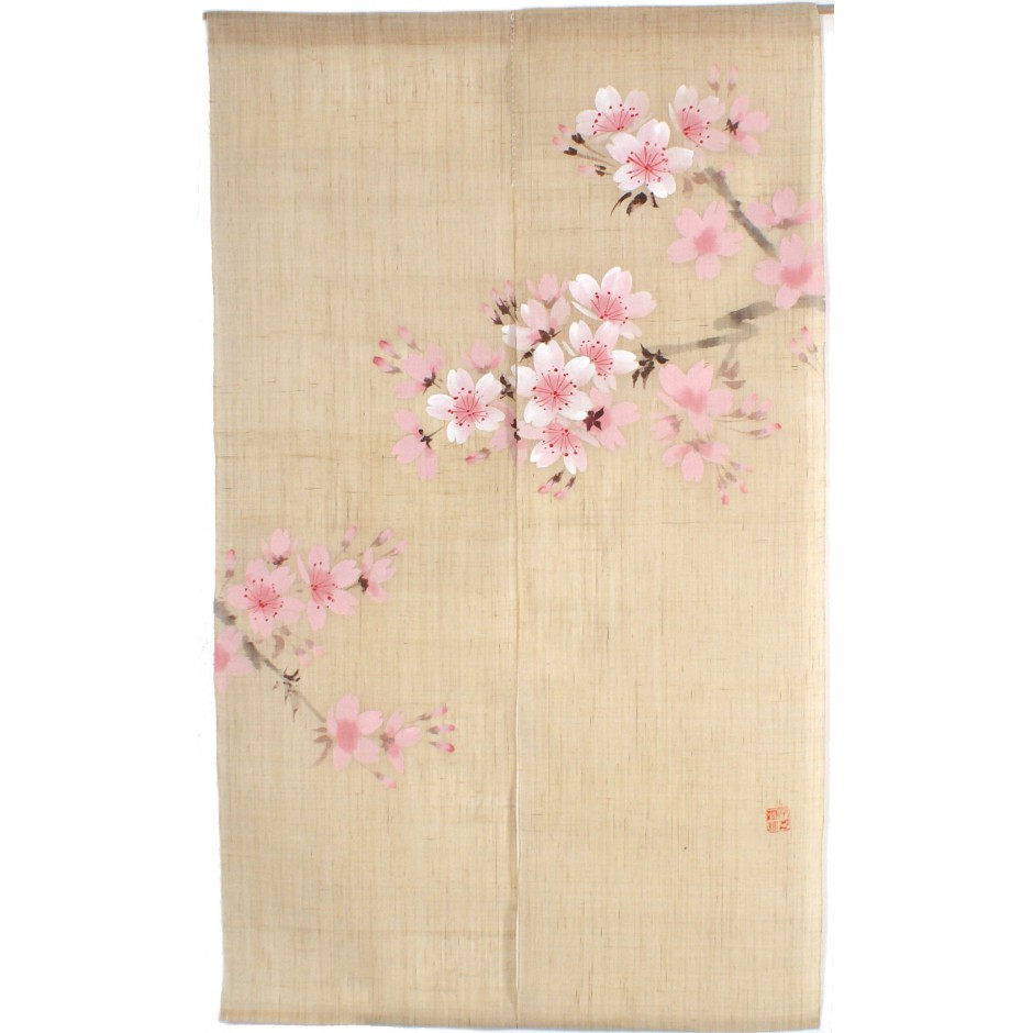 JAPANESE Noren Curtain NEW  Vegetables turnip MADE IN JAPAN