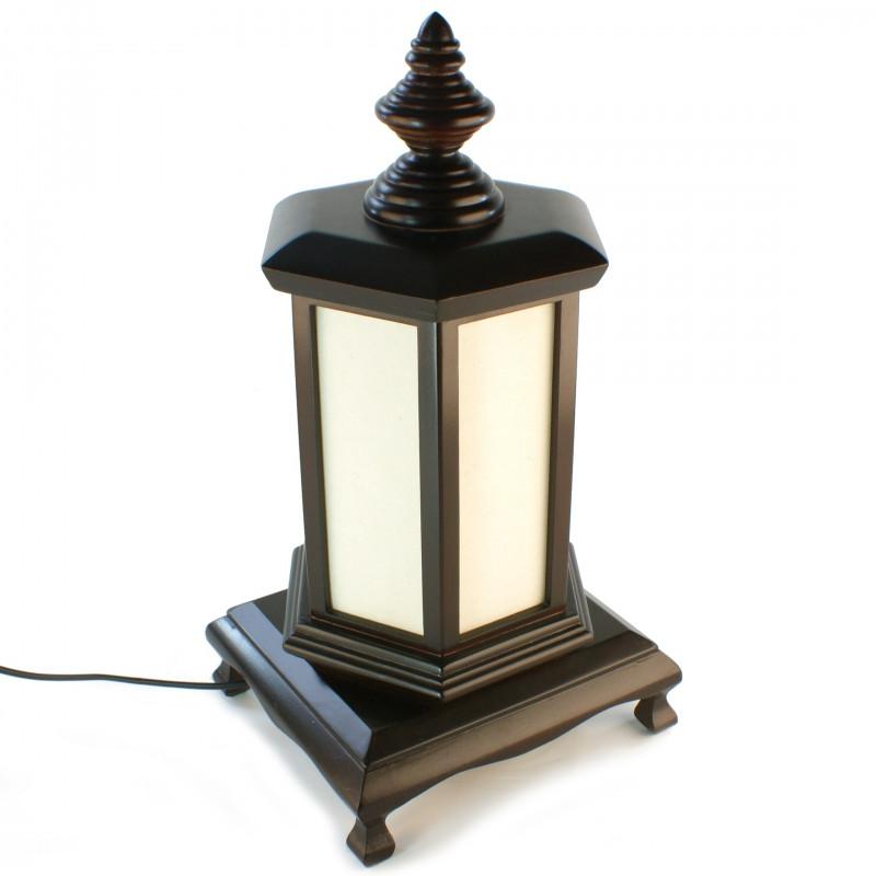 Lampe de table japonaise PUGGI 2 noire