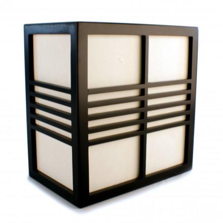 Japanese black YOKO wall lamp