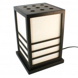 Lampe de table japonaise NIKKO noire