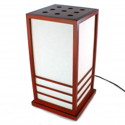 Great Japanese Red lamp table NIKKO