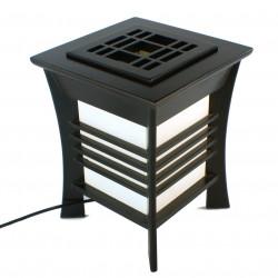 Japanese black table lamp Akida
